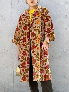 Vintage 60s Tapestry Coat
