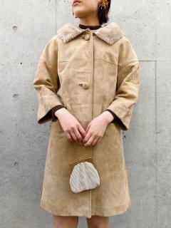 Vintage 60s Suede Coat