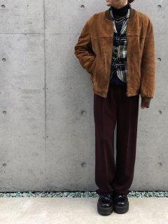 Reporter Suède Leather Blouson