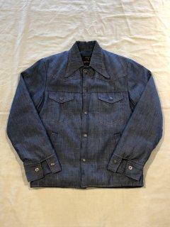 70s Hansa-Branta by STEARNS Denim Down JKT