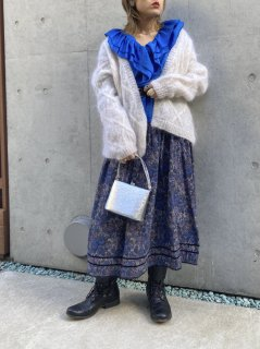 Lady's Mohair Knit Cardigan
