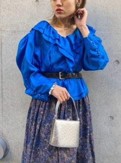 Lady's Raffle Design Blouse