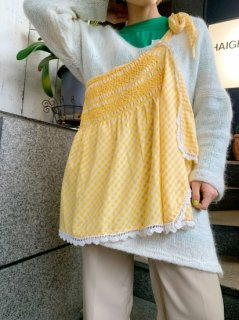 <img class='new_mark_img1' src='https://img.shop-pro.jp/img/new/icons14.gif' style='border:none;display:inline;margin:0px;padding:0px;width:auto;' />Vintage Checkered Apron