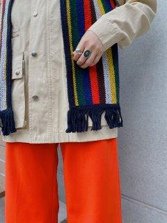 1970s Fringe Knit Vest