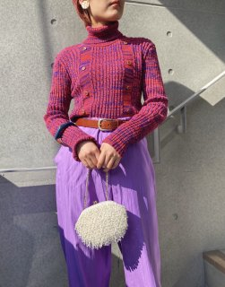 Lady's Nep Knit Top