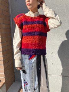 Lady's Hand Knit Vest