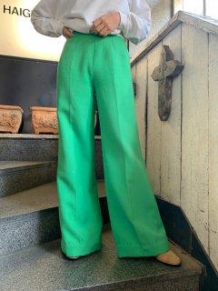 Vintage Green Flared Pant