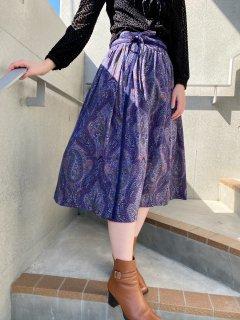 Lady's Lavender Color Tyrol Skirt