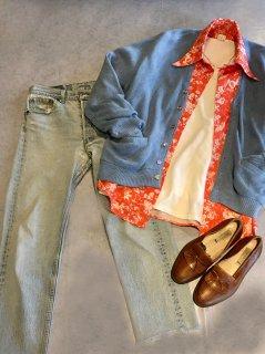 ~80s PECONIC BAY TRADERS Acrylic Cardigan