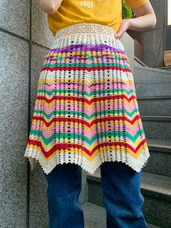 <img class='new_mark_img1' src='https://img.shop-pro.jp/img/new/icons50.gif' style='border:none;display:inline;margin:0px;padding:0px;width:auto;' />Vintage Knit Apron