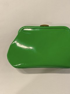 1960's Green Enamel Clutch Bag