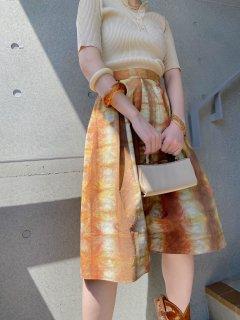 Vintage Gradation Color Skirt