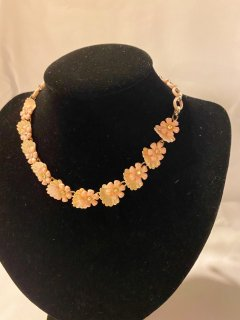 Vintage Cherry blossom Necklace