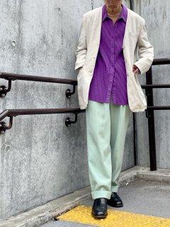 RIGANY Collarless Linen JKT
