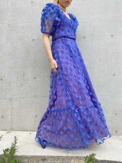 Vintage Dot Pattern Dress
