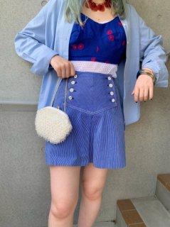 Vintage Striped Skirt
