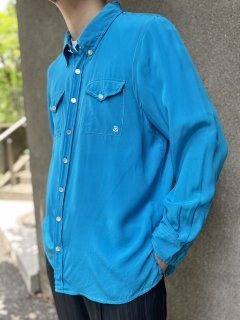 80s Bob Mackie Silk L/S Shirt