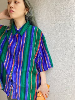 Lady's Multi Border Shirt