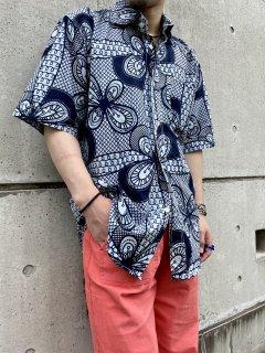 Batik Wax Print Design S/S Shirt
