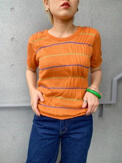 <img class='new_mark_img1' src='https://img.shop-pro.jp/img/new/icons24.gif' style='border:none;display:inline;margin:0px;padding:0px;width:auto;' />(20%off) Vintage Orange Summer Sweater¥3,400→¥2,720