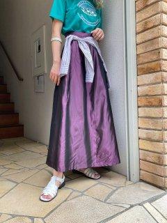 Lady's Metallic Long Skirt