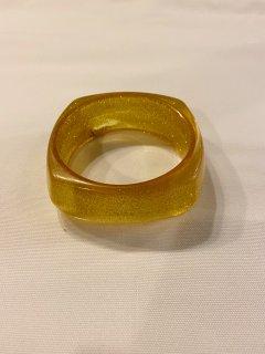 Vintage Gold Glitter Bangle