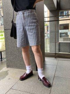 Lady's Stripe Half Pants