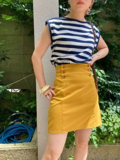 <img class='new_mark_img1' src='https://img.shop-pro.jp/img/new/icons24.gif' style='border:none;display:inline;margin:0px;padding:0px;width:auto;' />(50%off) Lady's Mustard Color Tight Skirt ¥5,400→¥2,700