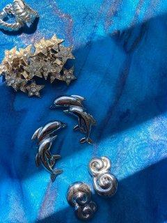 Lady's Dolphin Earrings