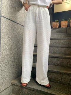 Vintage White Dot Pants