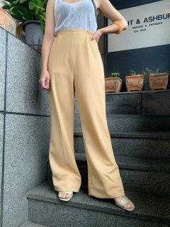 Vintage Beige Color Pants