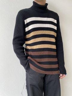 LAUREN RALPH LAUREN Turtleneck Cotton Knit