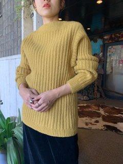 Vintage Mustard Color Sweater