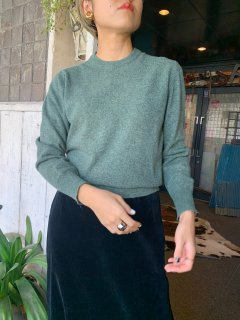 1950s Vintage Moss Green Sweater