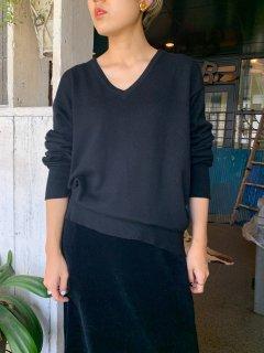 1940s Cashmere Black Sweater