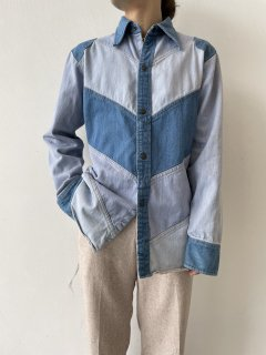 70s EXPRESSIONS by CAMPUS Design Denim Shirt