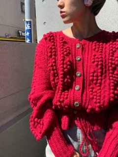 <img class='new_mark_img1' src='https://img.shop-pro.jp/img/new/icons14.gif' style='border:none;display:inline;margin:0px;padding:0px;width:auto;' />Vintage Red Tyrol Cardigan