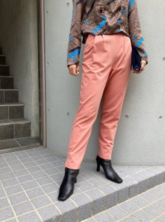 Lady's Salmon Pink Color Pants