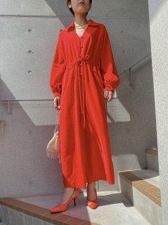 Vintage Fleece Fabric Red Jumpsuit
