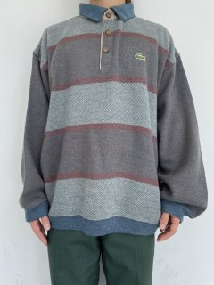 80s LACOSTE Knit Polo Shirt