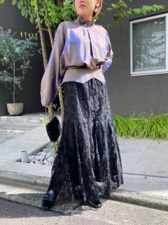 <img class='new_mark_img1' src='https://img.shop-pro.jp/img/new/icons14.gif' style='border:none;display:inline;margin:0px;padding:0px;width:auto;' />Lady's Black Lace Skirt
