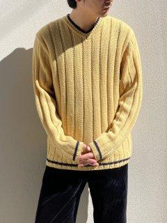 MAN'S WORLD SPORT Design V-neck Knit