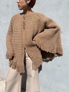 <img class='new_mark_img1' src='https://img.shop-pro.jp/img/new/icons14.gif' style='border:none;display:inline;margin:0px;padding:0px;width:auto;' />1960s Vintage Knit Cape