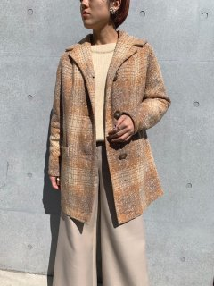 <img class='new_mark_img1' src='https://img.shop-pro.jp/img/new/icons14.gif' style='border:none;display:inline;margin:0px;padding:0px;width:auto;' />1960s Vintage Tweed Coat