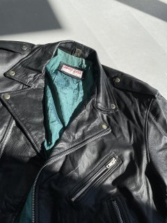80s~ BERTO LUCCI Leather Riders JKT