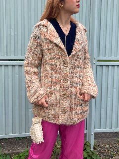 <img class='new_mark_img1' src='https://img.shop-pro.jp/img/new/icons14.gif' style='border:none;display:inline;margin:0px;padding:0px;width:auto;' />Lady's Natural Color Knit Cardigan