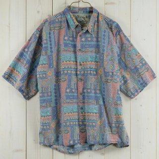 古着Pier Connection 総柄 半袖シャツ 古着のネット通販 古着屋グレープフルーツムーン
