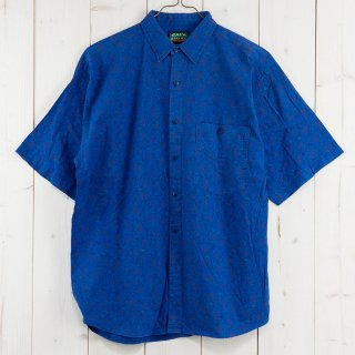 古着SHAM SAFARI プリント 半袖シャツ 古着のネット通販 古着屋グレープフルーツムーン