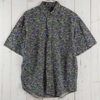 古着90's Eddie Bauer 半袖総柄シャツ 古着のネット通販 古着屋グレープフルーツムーン