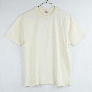 古着Backers Sportswear Short Sleeve Crew Neck Cut&Sew 半袖クルーネックカットソー ホワイト 古着のネット通販 古着屋グレープフルーツムーン